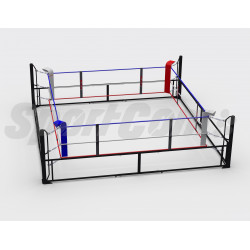 Removable boxing ring