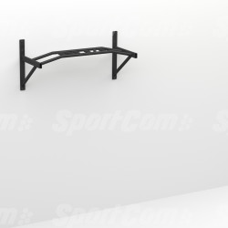 Wall-mounted pull down bar
