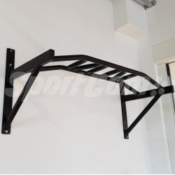 Wall-mounted pull down bar