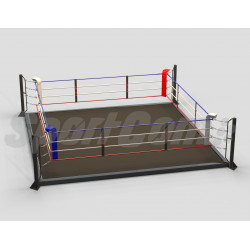 Training boxing ring with...
