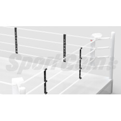 Boxing ring ropes separators