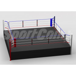 Pro competition boxing ring