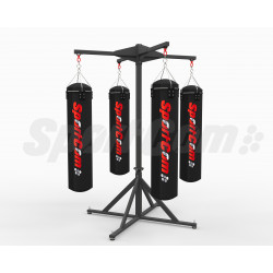 Freestanding 4-bag station