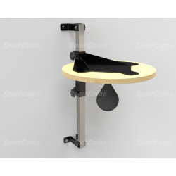 Adjustable speed ball platform