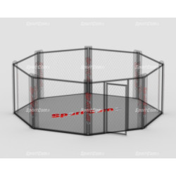 Flexi-Roll mats for MMA cage