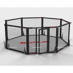 Cage MMA octogonale pliante