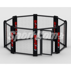 Floor-mounted MMA cage