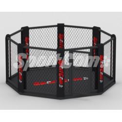 Cage MMA octogonale avec...